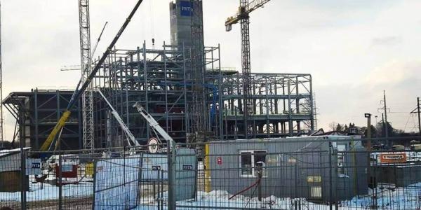 Kaunas Cogeneration Power Plant (KKJ) metal constructions manufacturing, 700 tons.